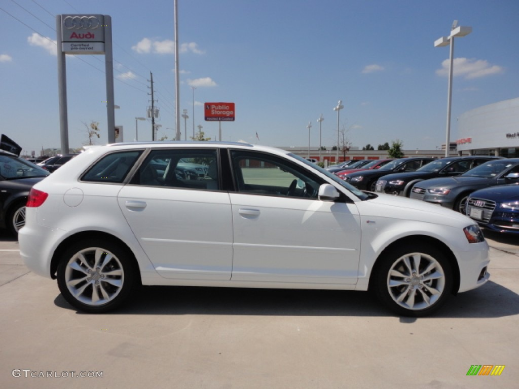 ibis white 2013 audi a3 2 0 tdi exterior photo 71712790. Black Bedroom Furniture Sets. Home Design Ideas