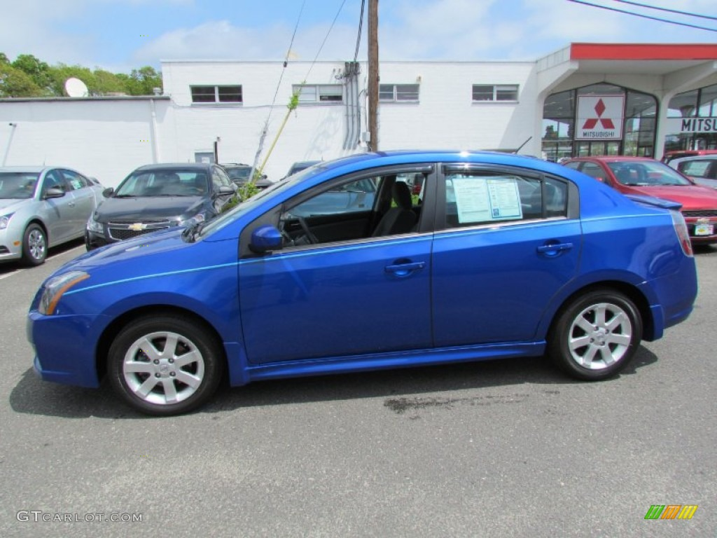 blue metallic 2010 nissan sentra 2 0 sr exterior photo 71716642. Black Bedroom Furniture Sets. Home Design Ideas