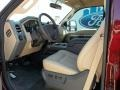 2012 Autumn Red Metallic Ford F250 Super Duty Lariat Crew Cab 4x4  photo #21
