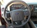 2012 Autumn Red Metallic Ford F250 Super Duty Lariat Crew Cab 4x4  photo #23
