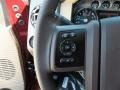 2012 Autumn Red Metallic Ford F250 Super Duty Lariat Crew Cab 4x4  photo #25