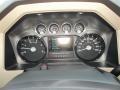 2012 Autumn Red Metallic Ford F250 Super Duty Lariat Crew Cab 4x4  photo #53