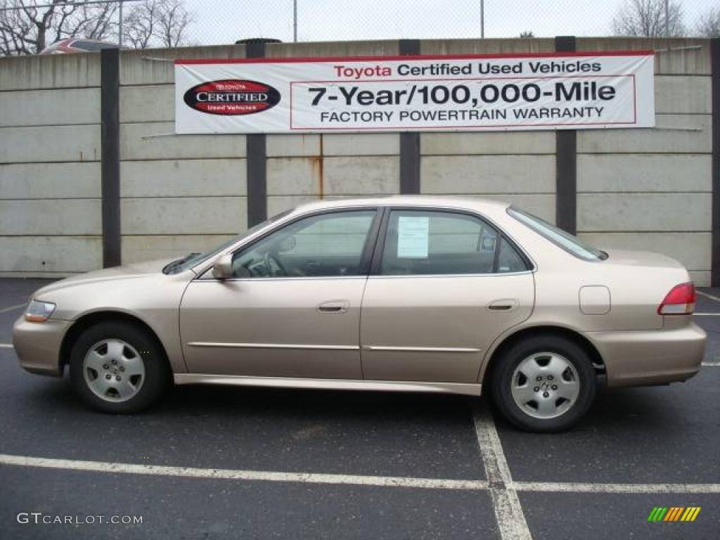 2001 Naples Gold Metallic Honda Accord Ex V6 Sedan 7139523 Car Color Galleries