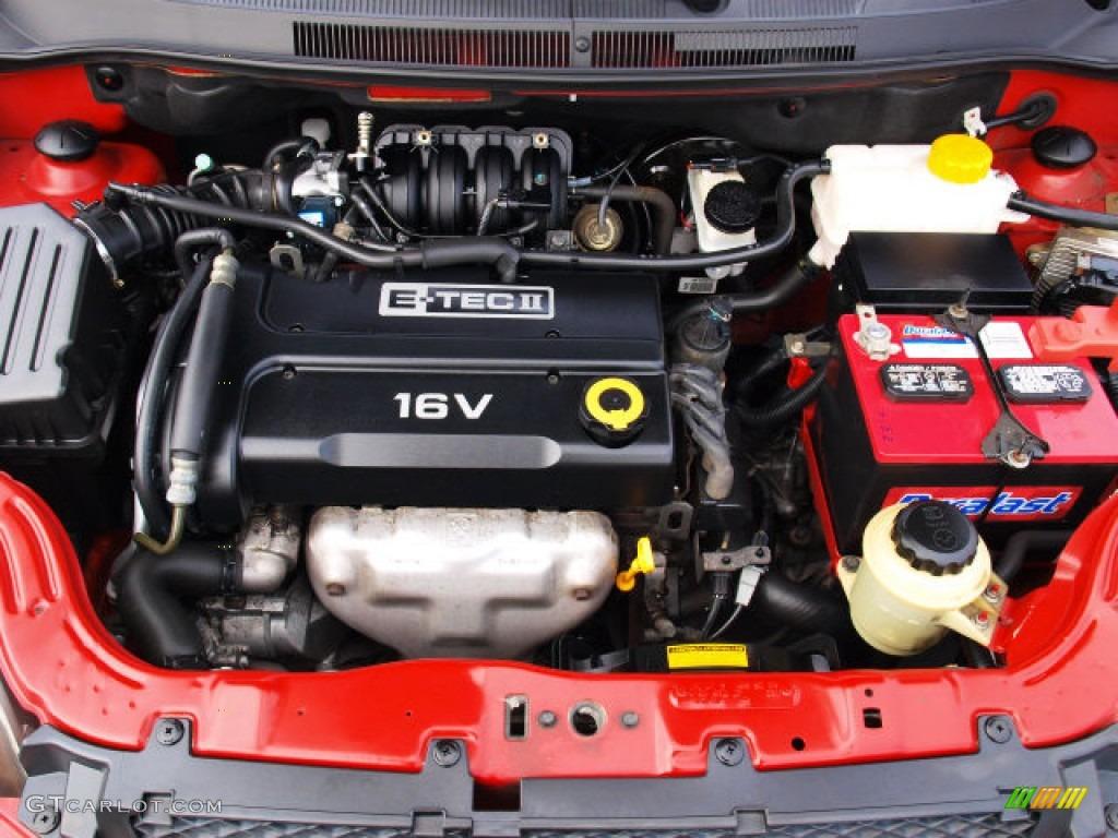 2007 Chevrolet Aveo LS Sedan Engine Photos | GTCarLot.com