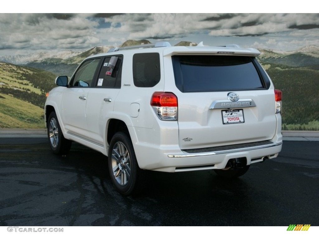 2013 blizzard white pearl toyota 4runner limited 4x4 71687737 photo 2 car. Black Bedroom Furniture Sets. Home Design Ideas