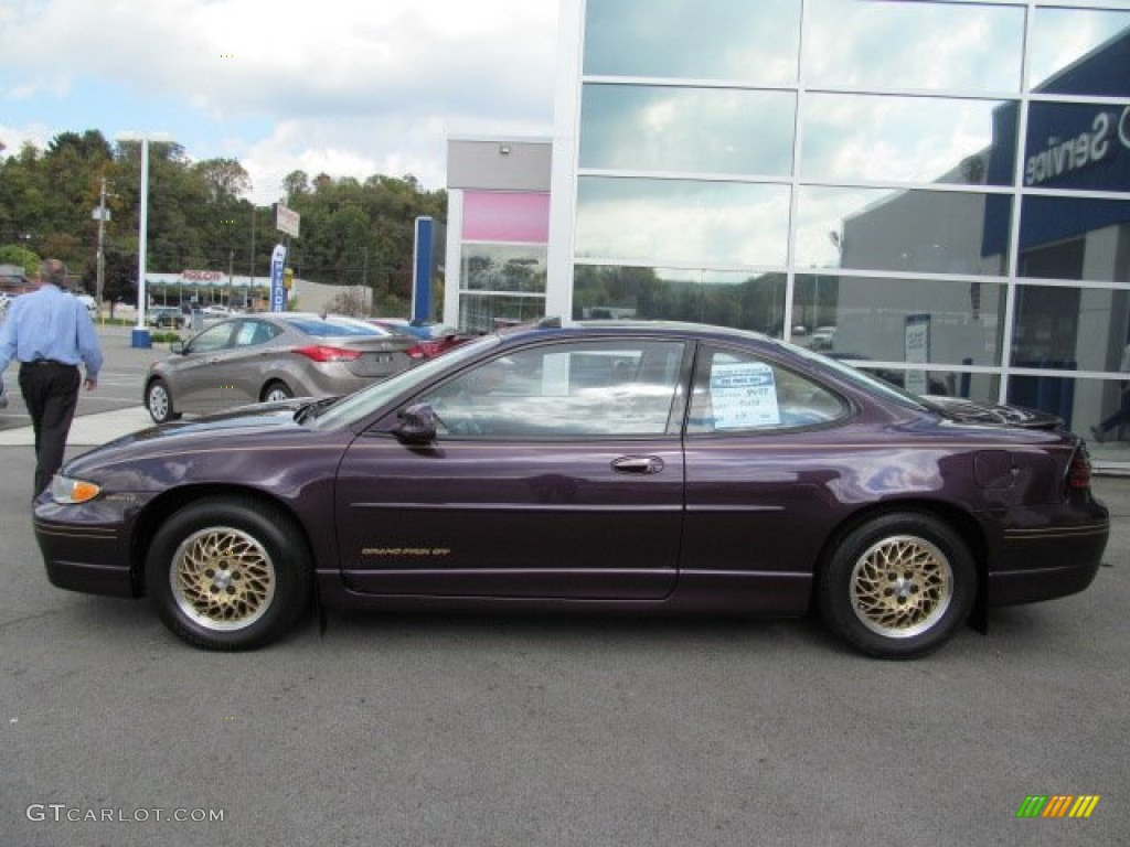 medium purple metallic 1998 pontiac grand prix gt coupe. Black Bedroom Furniture Sets. Home Design Ideas
