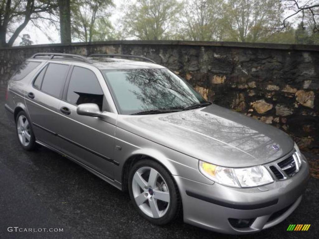 2005 steel gray metallic saab 9 5 aero sport wagon 7131732 car color galleries. Black Bedroom Furniture Sets. Home Design Ideas