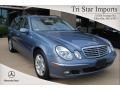 Platinum Blue Metallic - E 320 Wagon Photo No. 1