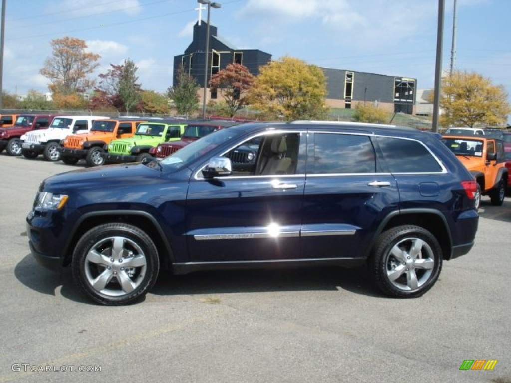 2013 true blue pearl jeep grand cherokee limited 4x4 #71744742