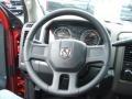 2012 Deep Molten Red Pearl Dodge Ram 1500 ST Regular Cab 4x4  photo #18