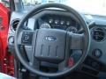 2012 Vermillion Red Ford F250 Super Duty XL Regular Cab 4x4  photo #17