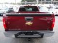 2013 Deep Ruby Metallic Chevrolet Silverado 1500 LS Extended Cab 4x4  photo #4