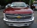 2013 Deep Ruby Metallic Chevrolet Silverado 1500 LS Extended Cab 4x4  photo #8