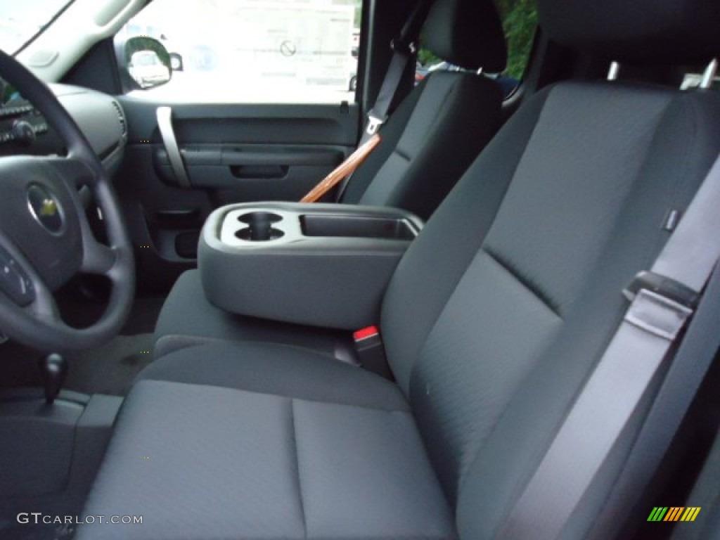 2013 Silverado 1500 LS Extended Cab 4x4 - Deep Ruby Metallic / Ebony photo #11
