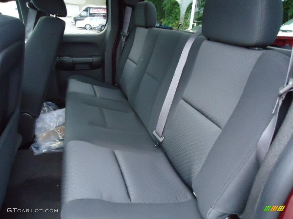 2013 Silverado 1500 LS Extended Cab 4x4 - Deep Ruby Metallic / Ebony photo #12