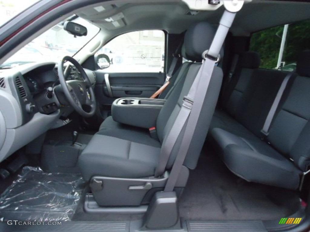 2013 Silverado 1500 LS Extended Cab 4x4 - Deep Ruby Metallic / Ebony photo #15