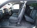 2013 Mocha Steel Metallic Chevrolet Silverado 1500 LT Extended Cab 4x4  photo #14