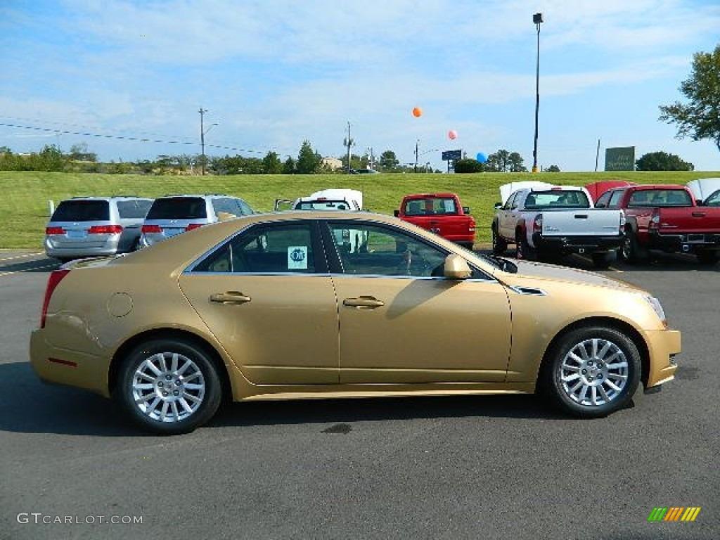 Summer Gold Metallic 2013 Cadillac Cts 3 0 Sedan Exterior