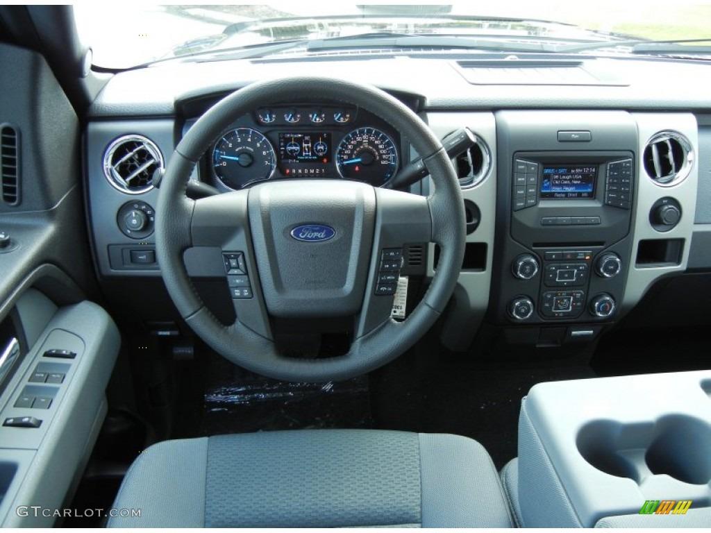 2013 Ford F150 Xlt Supercab Steel Gray Dashboard Photo