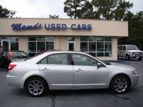 2009 Brilliant Silver Metallic Lincoln MKZ AWD Sedan #64925233 ...