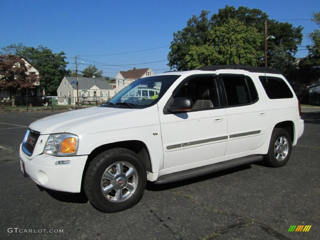 summit white 2003 gmc envoy xl slt 4x4 exterior photo. Black Bedroom Furniture Sets. Home Design Ideas