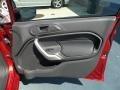2013 Ruby Red Ford Fiesta SE Hatchback  photo #37