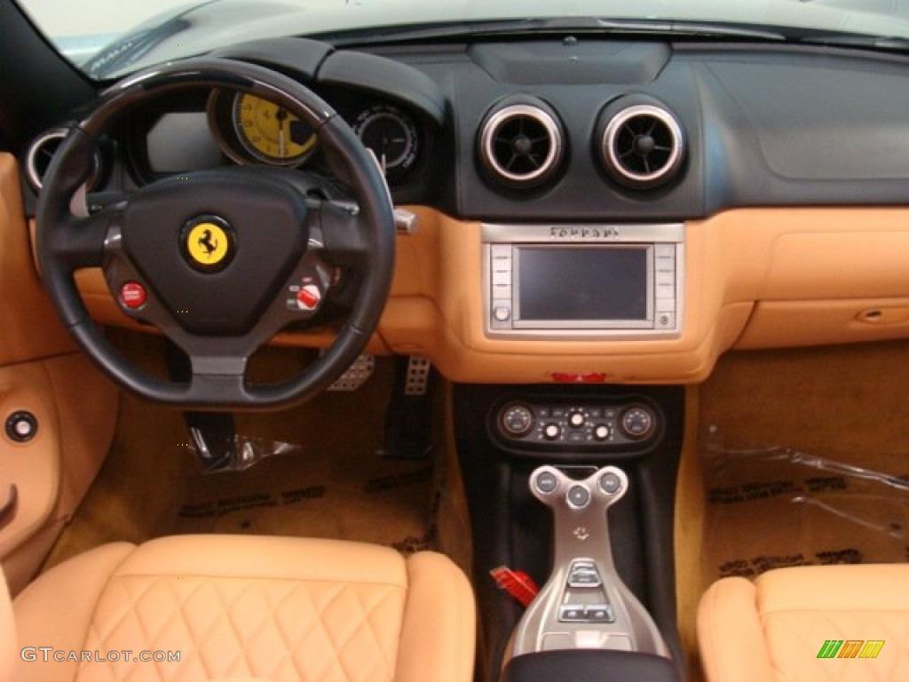 2011 Ferrari California Standard California Model Cuoio Dashboard