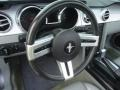 2006 Tungsten Grey Metallic Ford Mustang GT Premium Convertible  photo #12