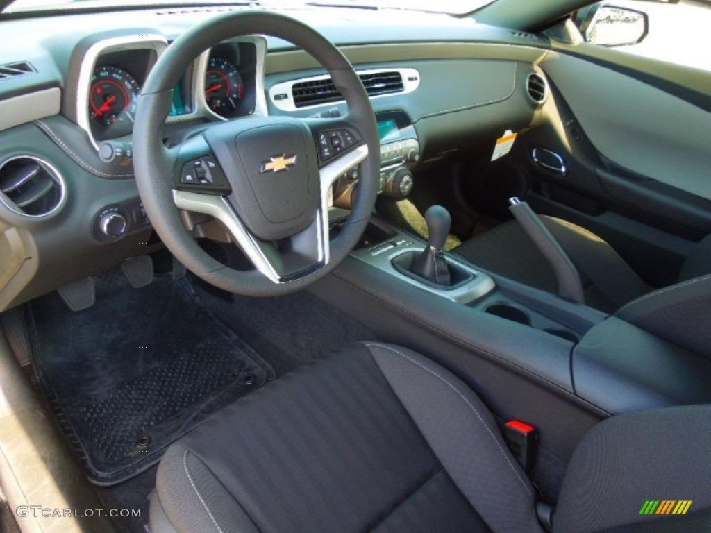 Black Interior 2013 Chevrolet Camaro Ls Coupe Photo 71811472