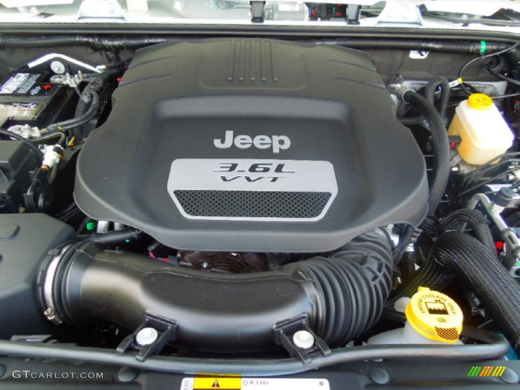 2013 Jeep Wrangler Unlimited Rubicon 4x4 36 Liter Dohc 24