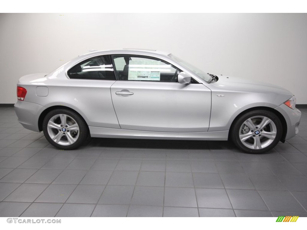 Titanium Silver Metallic 2013 Bmw 1 Series 128i Coupe