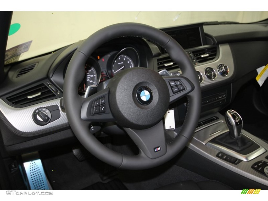 2013 Bmw Z4 Sdrive 28i Black Steering Wheel Photo