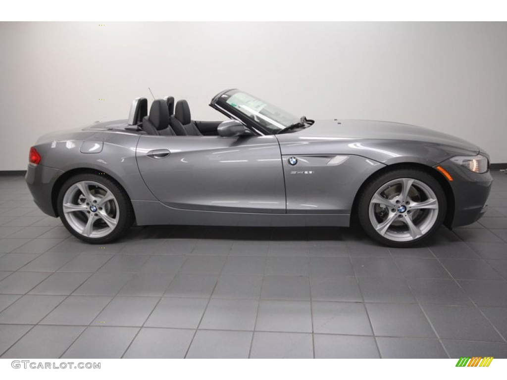Space Gray Metallic 2013 Bmw Z4 Sdrive 28i Exterior Photo