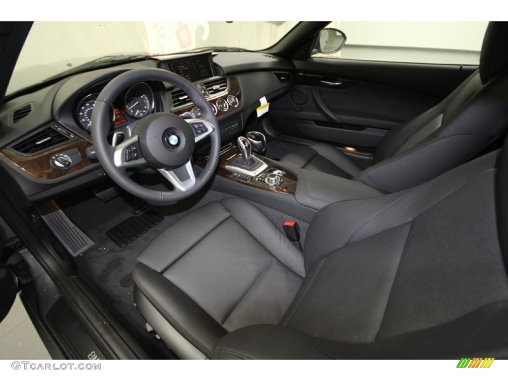 Black Interior 2013 Bmw Z4 Sdrive 28i Photo 71821709