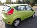 2013 Lime Squeeze Ford Fiesta SE Hatchback  photo #2