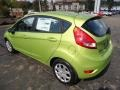 2013 Lime Squeeze Ford Fiesta SE Hatchback  photo #4