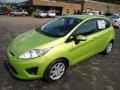 2013 Lime Squeeze Ford Fiesta SE Hatchback  photo #5