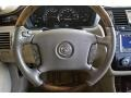 2006 Cadillac DTS Tehama Leather Interior Steering Wheel Photo