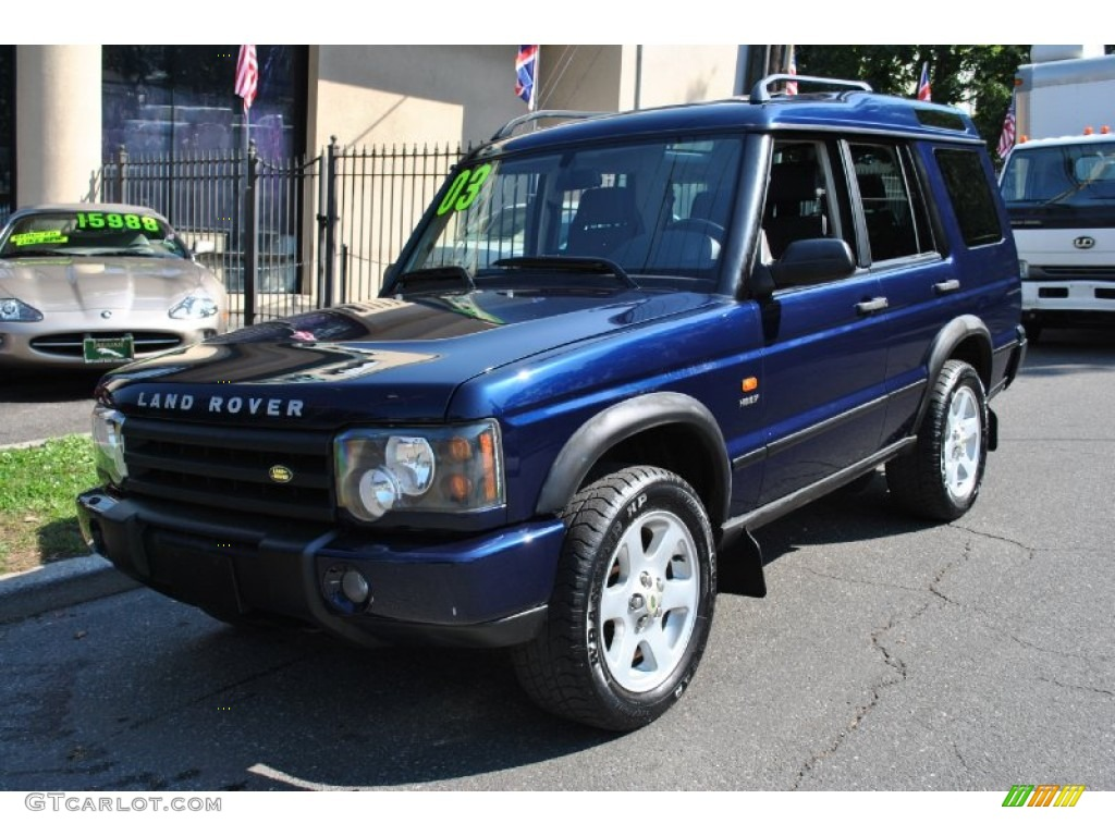 2003 Oslo Blue Land Rover Discovery Hse 71819275