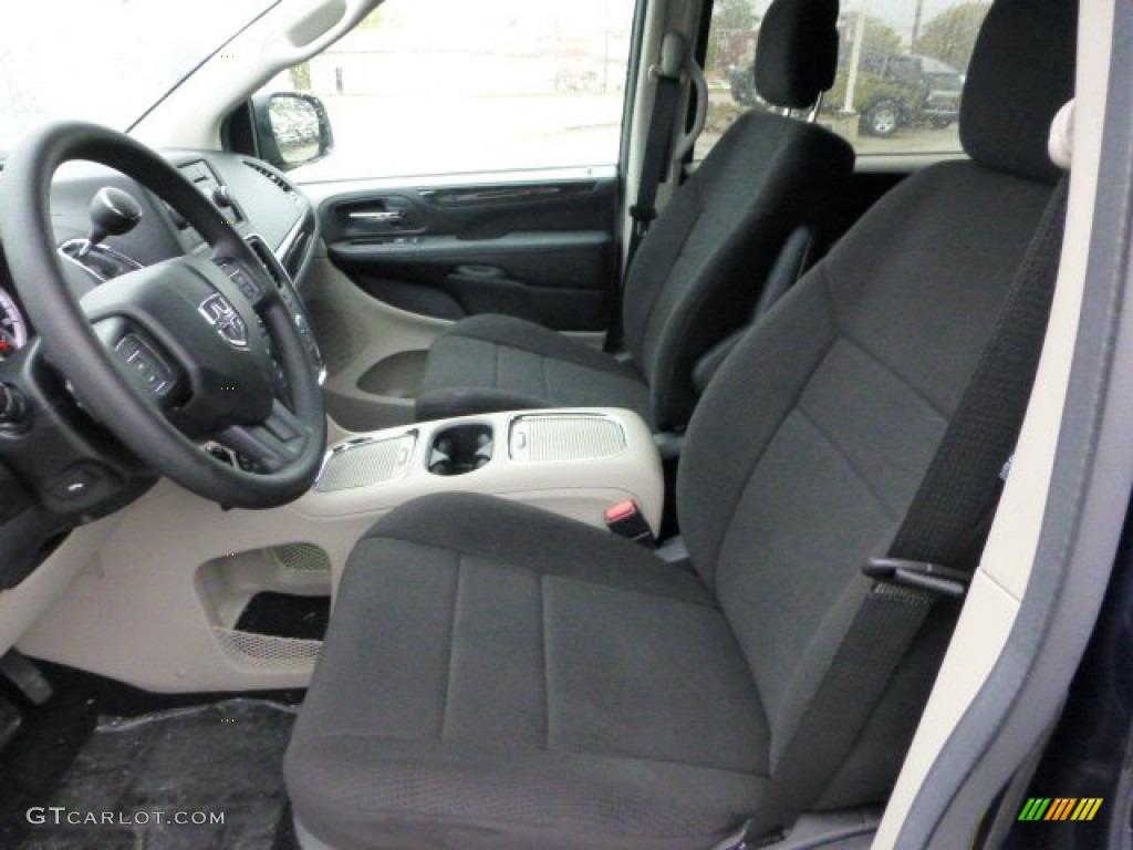 Black Light Graystone Interior 2013 Dodge Grand Caravan Sxt Photo 71835167