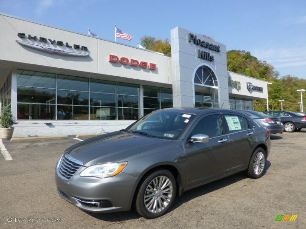 2013 Chrysler 200 Limited Sedan - Tungsten Metallic Color / Black ...
