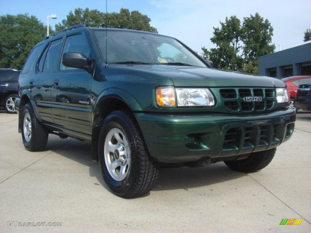 2002 Garden Green Mica Isuzu Rodeo LS #71819432 Photo #12