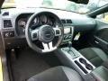 2012 Dodge Challenger Dark Slate Gray Interior Prime Interior Photo