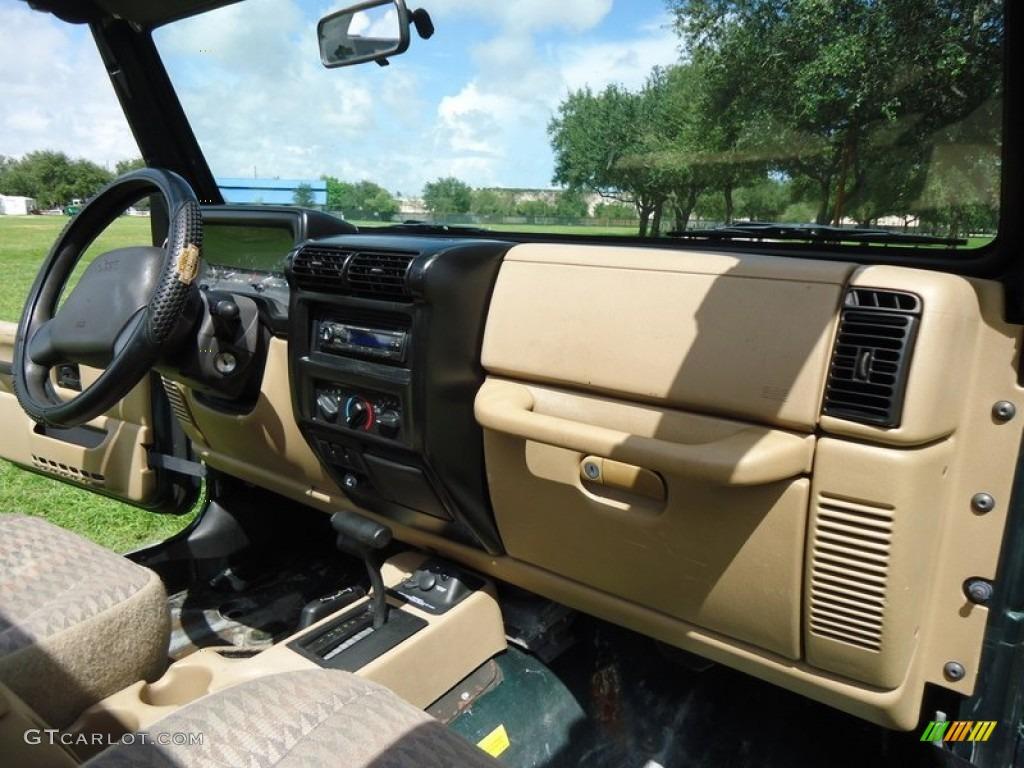 1997 Jeep Sahara 1999 Jeep Wrangler Sport 4x4 Camel Dashboard Photo ...