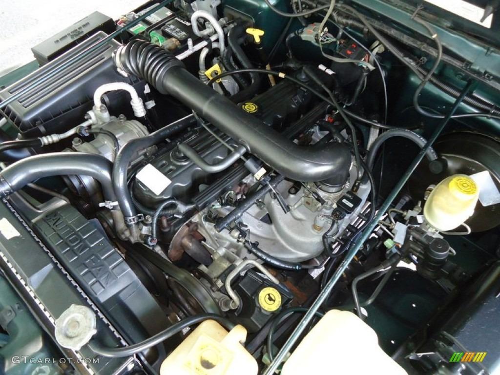 1999 jeep wrangler sport 4x4 4 0 liter ohv 12 valve inline 6 cylinder engine photo 71842394. Black Bedroom Furniture Sets. Home Design Ideas