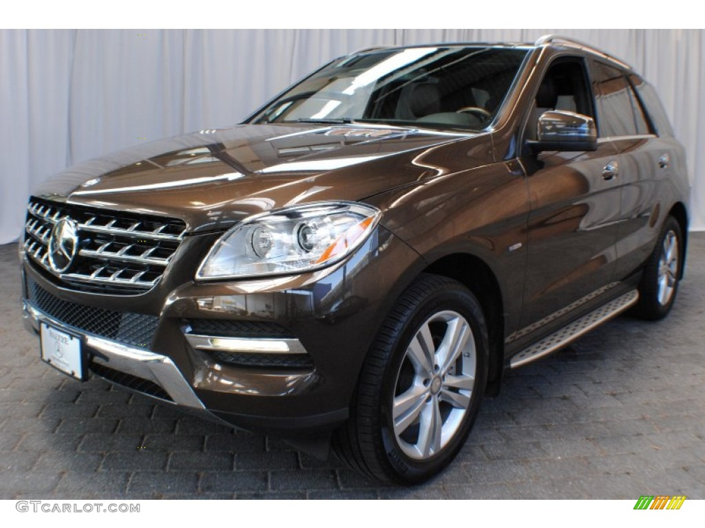 2012 dakota brown metallic mercedes benz ml 350 bluetec