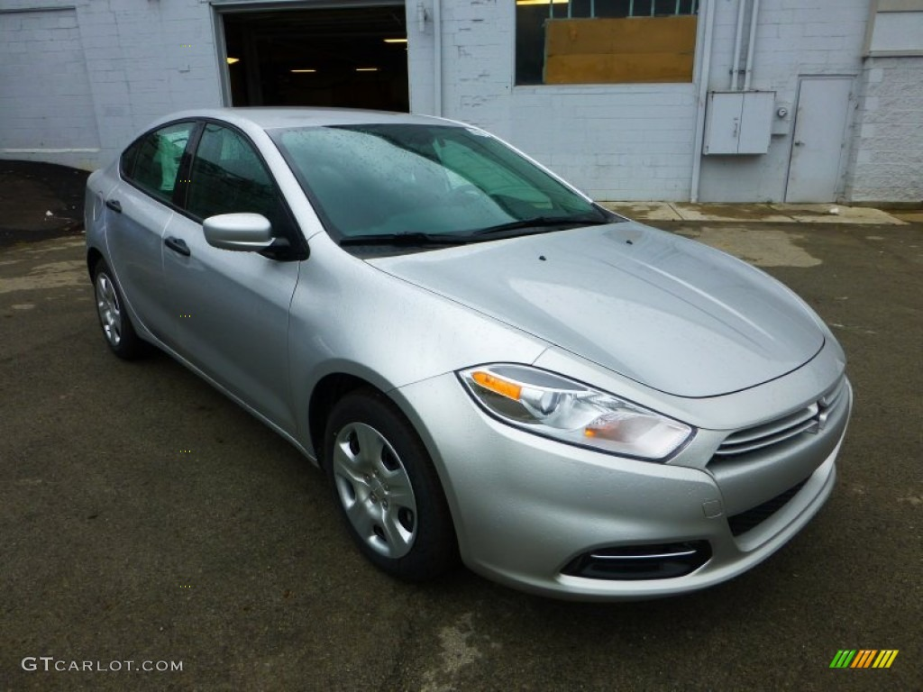 bright silver metallic 2013 dodge dart se exterior photo. Black Bedroom Furniture Sets. Home Design Ideas