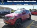 Deep Cherry Red Crystal Pearl 2012 Jeep Grand Cherokee Altitude 4x4