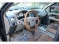 2005 Ford F150 Castano Brown Leather Interior Prime Interior Photo