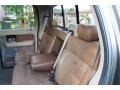 2005 Ford F150 Castano Brown Leather Interior Rear Seat Photo